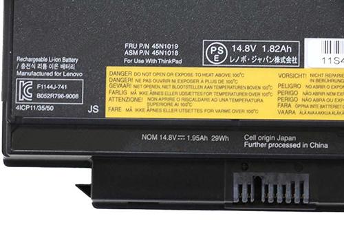 45N1019ノートPCバッテリー