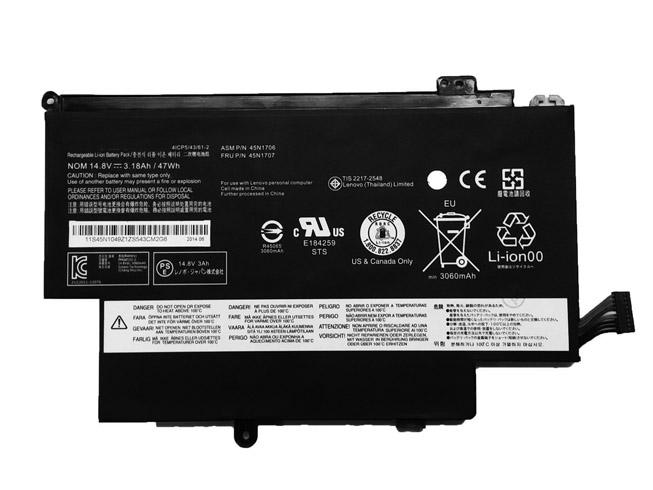 45N1704ノートPCバッテリー
