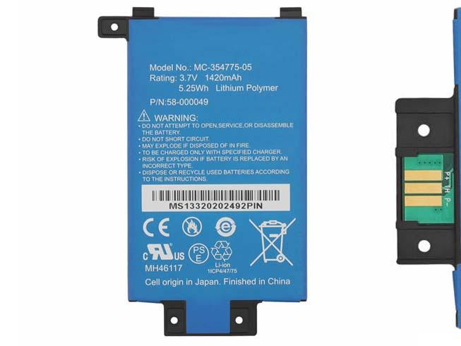 1420mAh/5.25Wh 3.7V AMAZON 58-000049 互換用バッテリー
