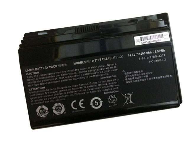 6-87-W370S-4271ノートPCバッテリー