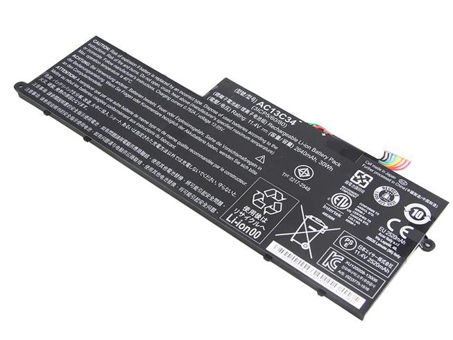 2640mAh Acer AC13C34 互換用バッテリー