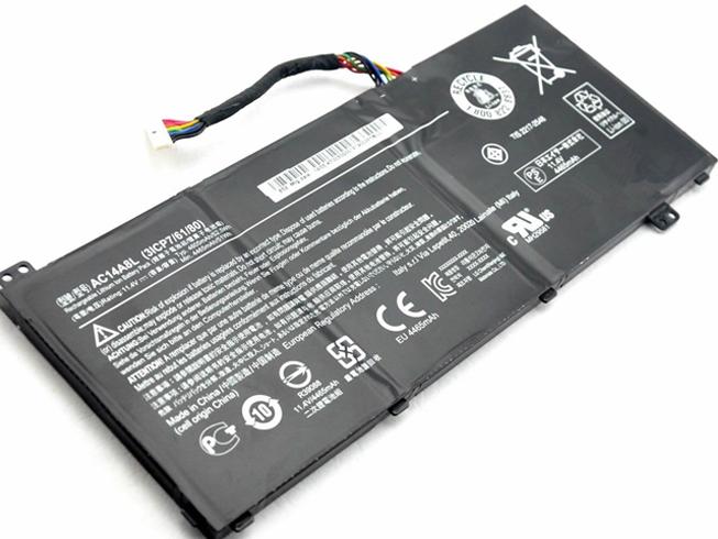 Acer AC14A8L 52.5Wh 11.4V 電池バッテリー