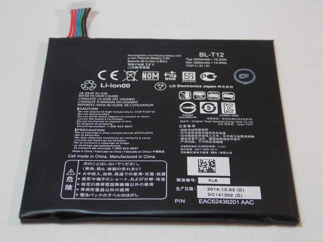 LG BL-T12 互換用バッテリー