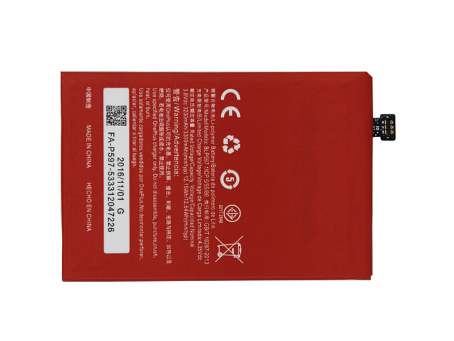 3300mAh OPPO BLP597 互換用バッテリー