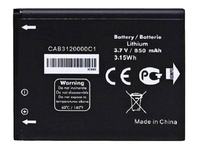 Alcatel CAB3120000C1 互換用バッテリー