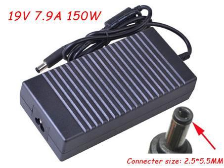 19.5V, 7.9A  150W ASUSノートPC用ACアダプター