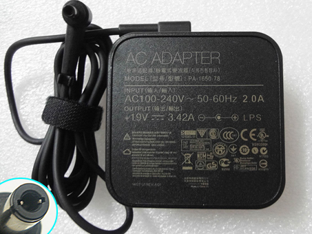 19V-3.42A,65W ASUSノートPC用ACアダプター