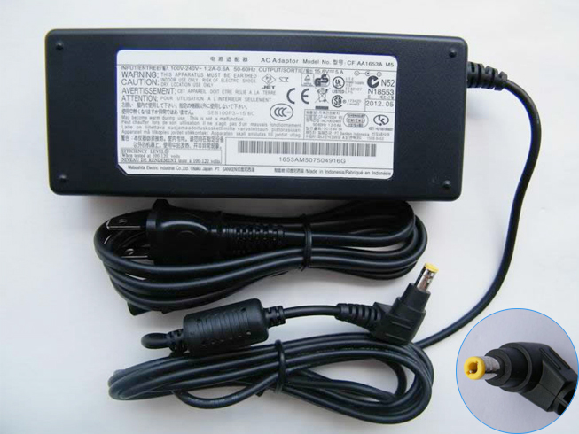 15.6V 5A 78W PANASONICノートPC用ACアダプター