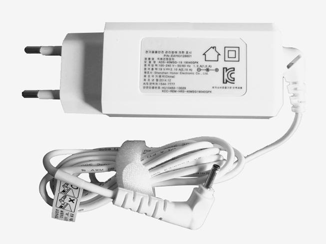 19V 2.10A 40W LGノートPC用ACアダプター