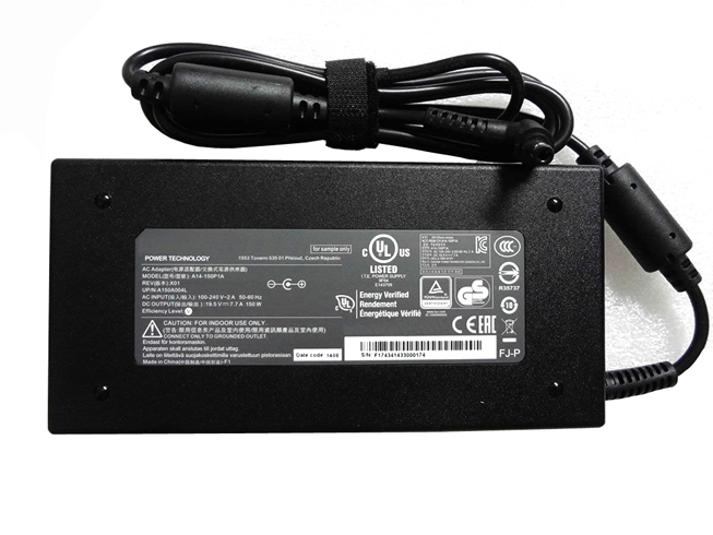 19.5V   7.7A, 150W MSIノートPC用ACアダプター