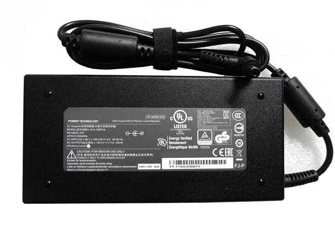 19.5V   7.7A, 150W CLEVOノートPC用ACアダプター