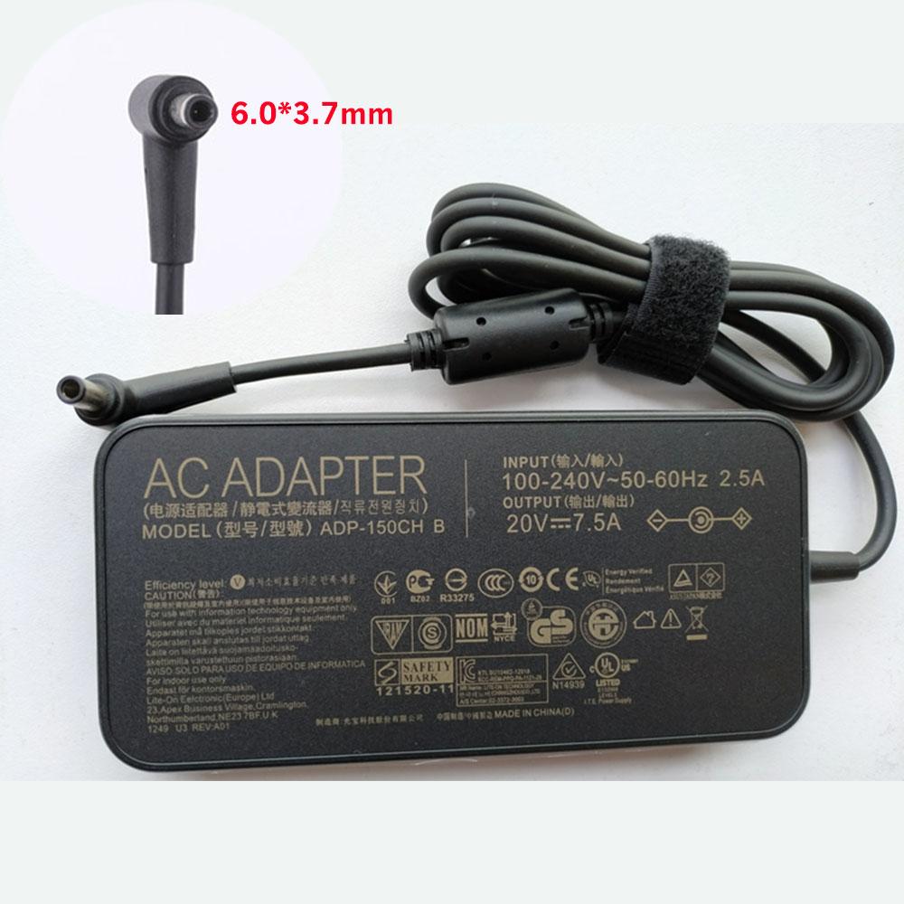 20V 7.5A, 150W ASUSノートPC用ACアダプター