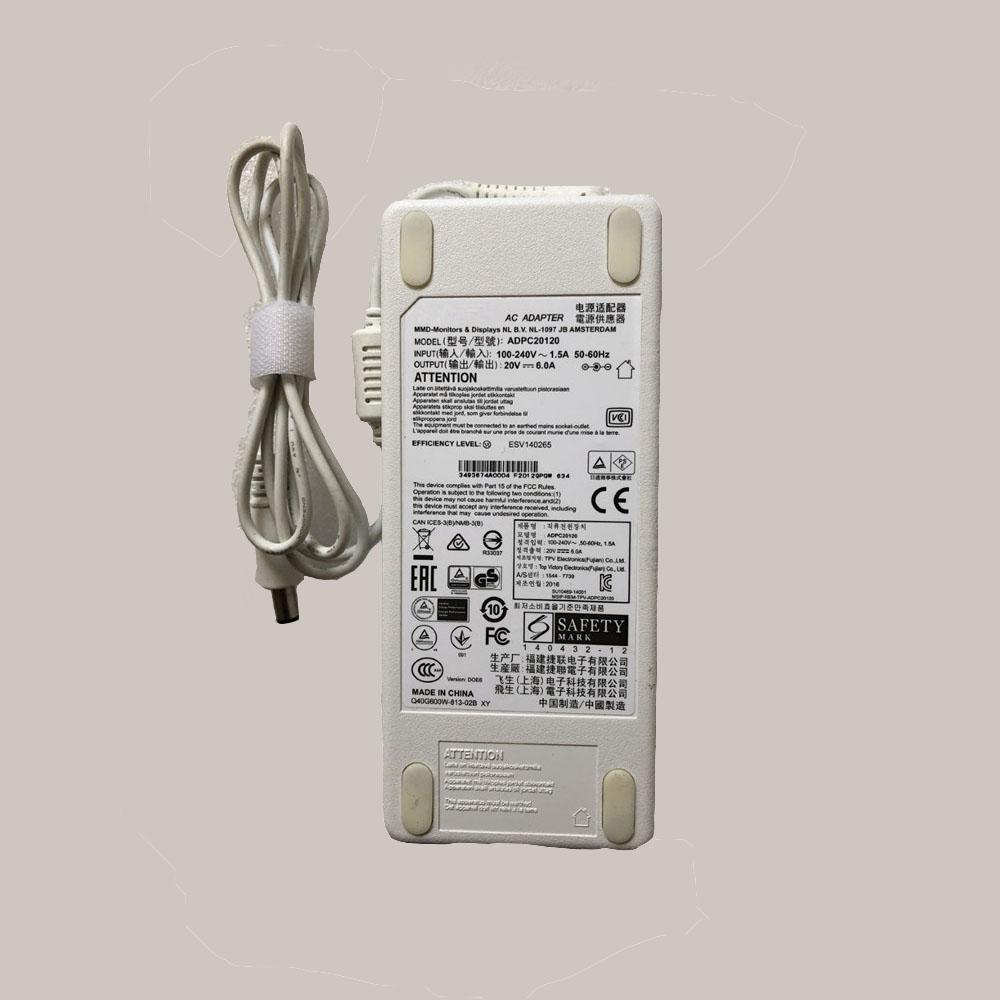 20V 6.0A 120W PHILIPSノートPC用ACアダプター