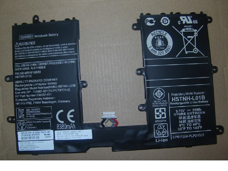 31wh/8380MAH 3.7V HP HSTNH-L01B 互換用バッテリー