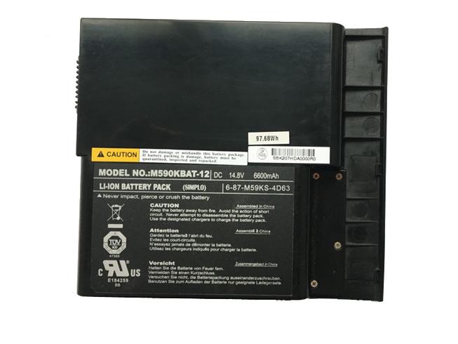 Clevo M590KBAT-12 6600mah 14.8V 電池バッテリー