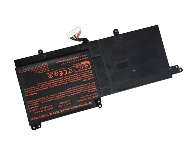 36Wh Clevo N130BAT-3 互換用バッテリー