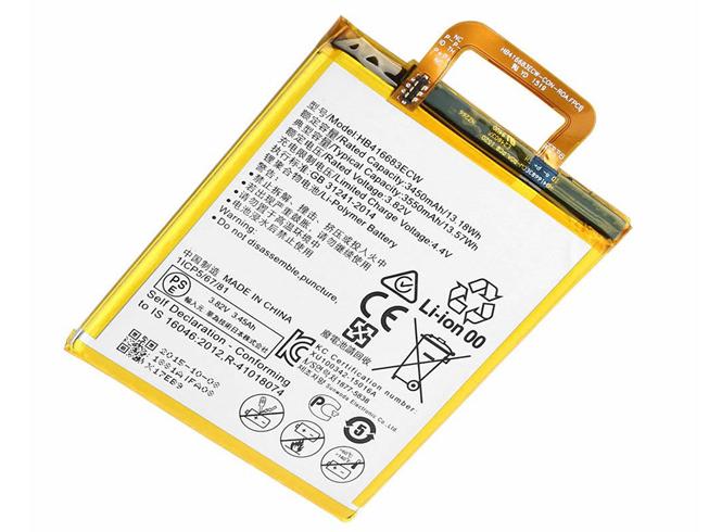Huawei HB416683ECW 3550mAh 3.82V 電池バッテリー