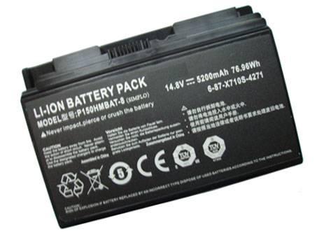 P150HMBAT-8ノートPCバッテリー