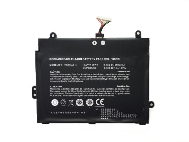 3500mAh Clevo P950BAT-4 互換用バッテリー