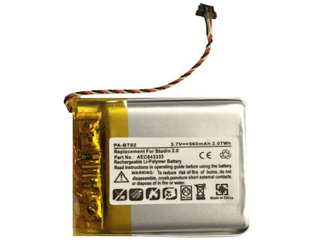Beats AEC643333 互換用バッテリー