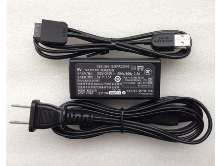 5V  1.5A,  7.5W(ref to the picture). SONYノートPC用ACアダプター