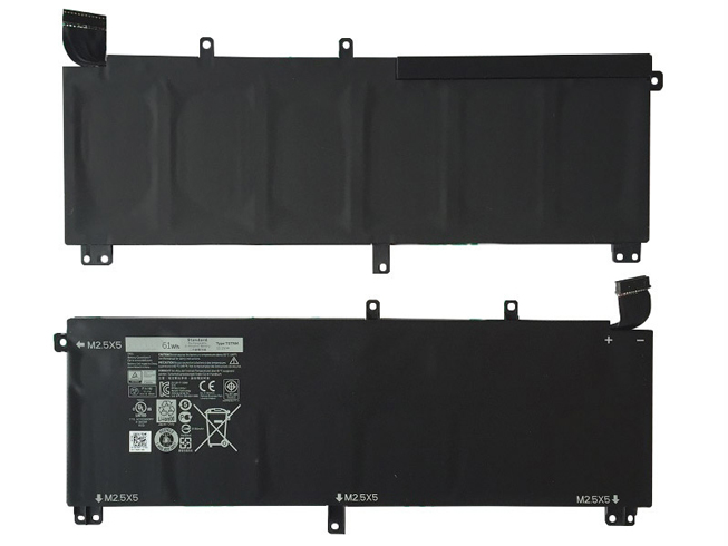 61Wh/6cell 11.1V DELL H76MV 互換用バッテリー