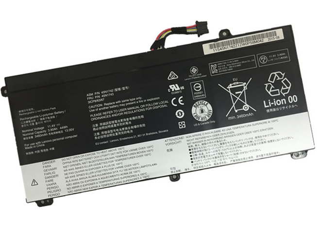 EXA1004UH 44WH / 3900mAh 11.4V PC バッテリー