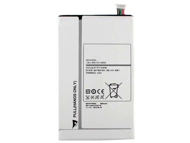 4900mAh 3.8V SAMSUNG EB-BT705FBC 互換用バッテリー
