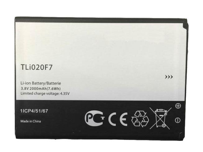 Alcatel TLI020F7 互換用バッテリー