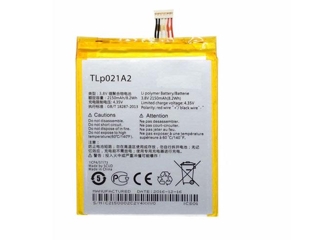 Alcatel TLP021A2 互換用バッテリー