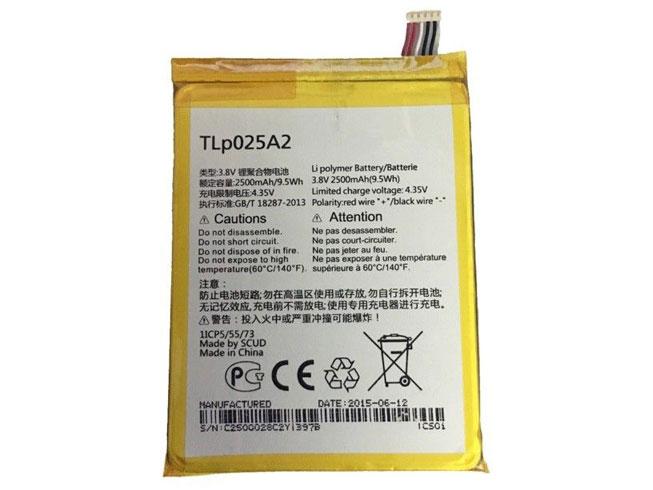 Alcatel TLp025A2 互換用バッテリー