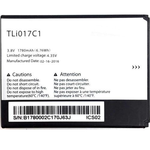 1780mah Alcatel TLi017C1 互換用バッテリー