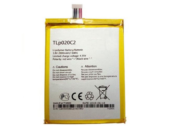 Alcatel TLp020C2 互換用バッテリー