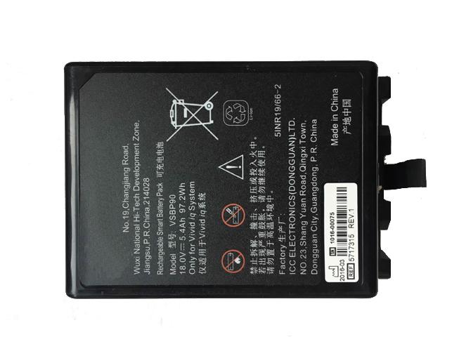 5.4Ah/97.2Wh GE VSBP90 互換用バッテリー
