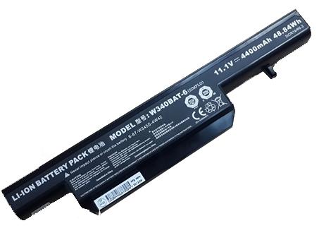 11.1V 4400mAH CLEVO W340 互換用バッテリー