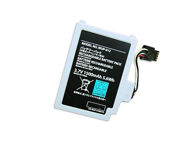 1500mAh Nintendo WUP-012 互換用バッテリー