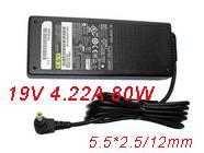 19V(19V)   4.22A(4,22A) 80W FUJITSUノートPC用ACアダプター