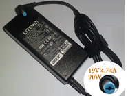 19V 4.74A 90 Watts ACERノートPC用ACアダプター