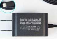5.25V DC 3.0A Micro USB 15.75W HPノートPC用ACアダプター